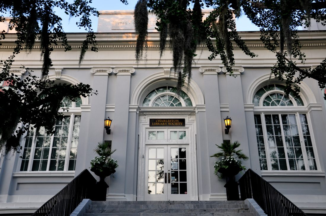 SOUTH CAROLINA : Charleston Library Society