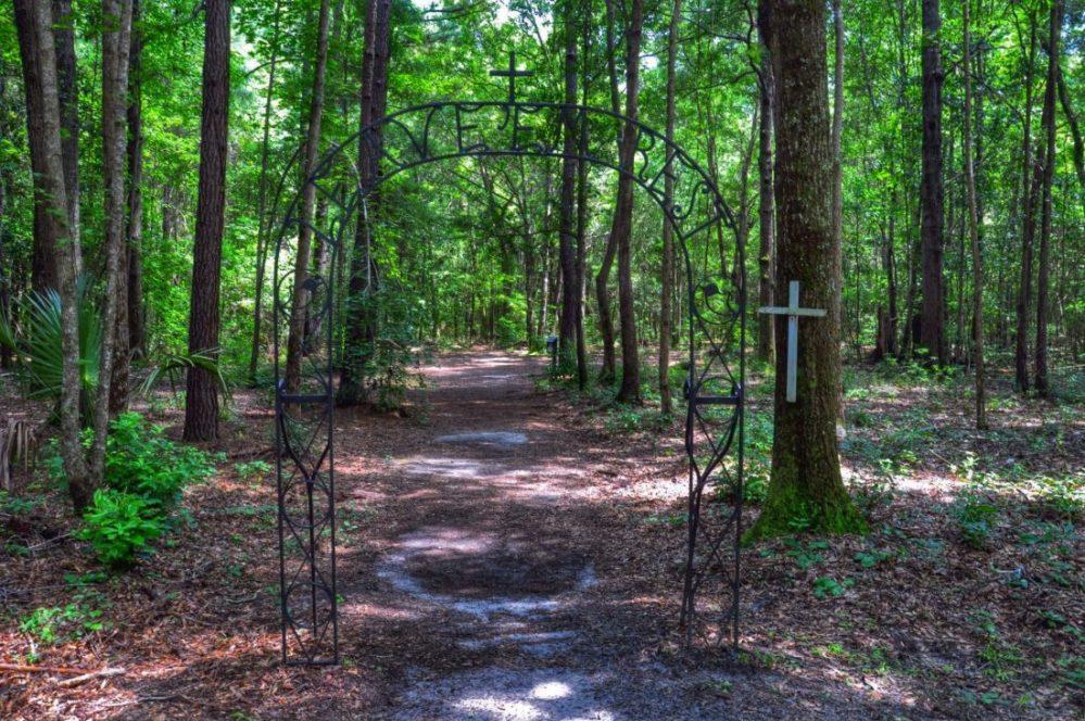 SOUTH CAROLINA : Drayton Hall Plantation African-American Cemetery
