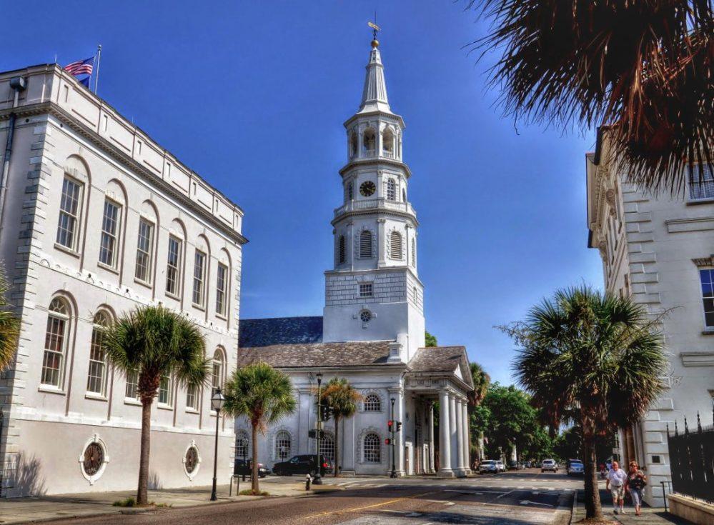 SOUTH CAROLINA : Charleston St. Michael's Episcopal Church