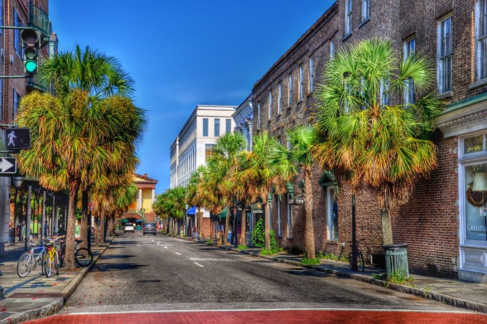 SOUTH CAROLINA : Charleston historic district
