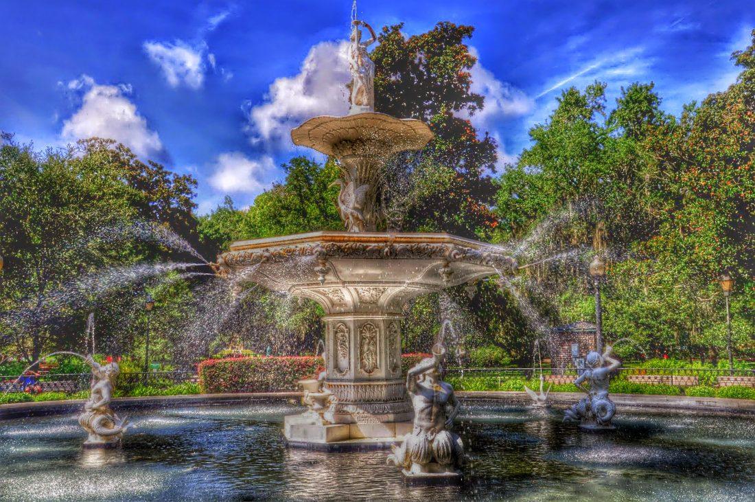 GEORGIA : Savannah Forsyth Park