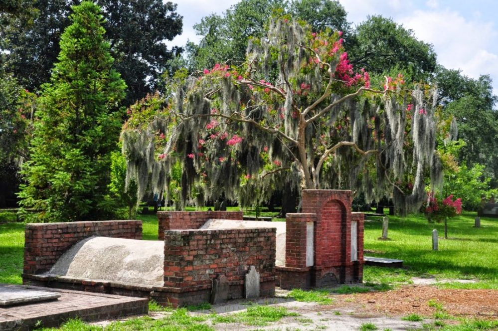 GEORGIA : Savannah Colonial Park Cemetery