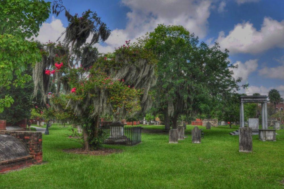 GEORGIA : Savannah Colonial Park Cemetery