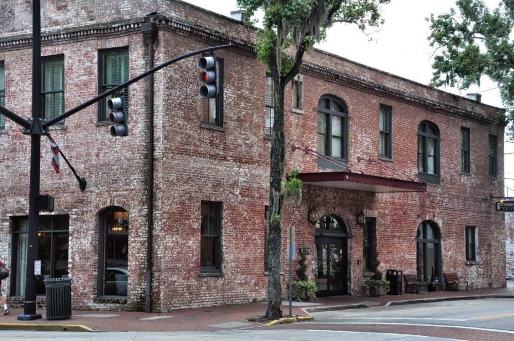 GEORGIA : Savannah downtown
