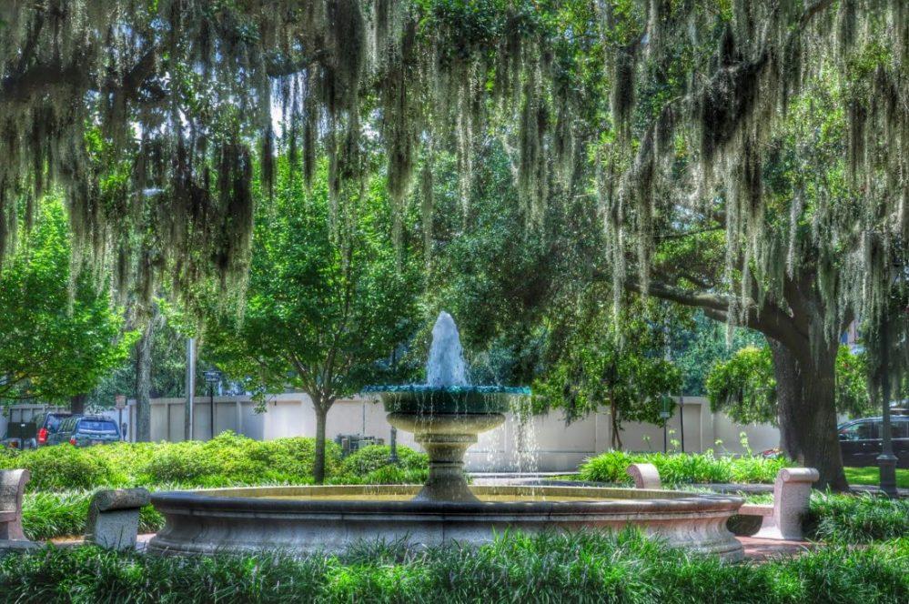 GEORGIA : Savannah Orleans Square