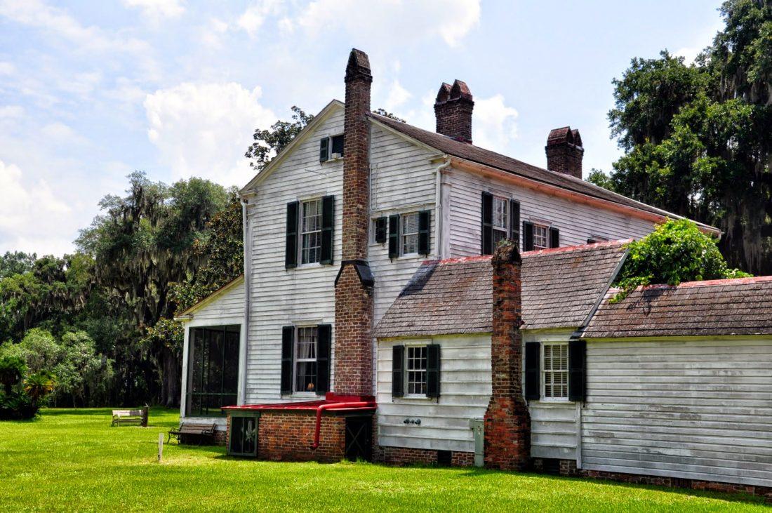 GEORGIA : Hofwyl-Broadfield Plantation