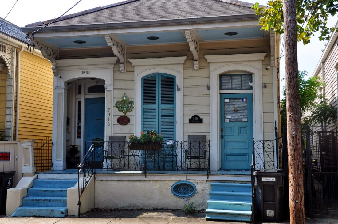 New Orleans : Faubourg Marigny