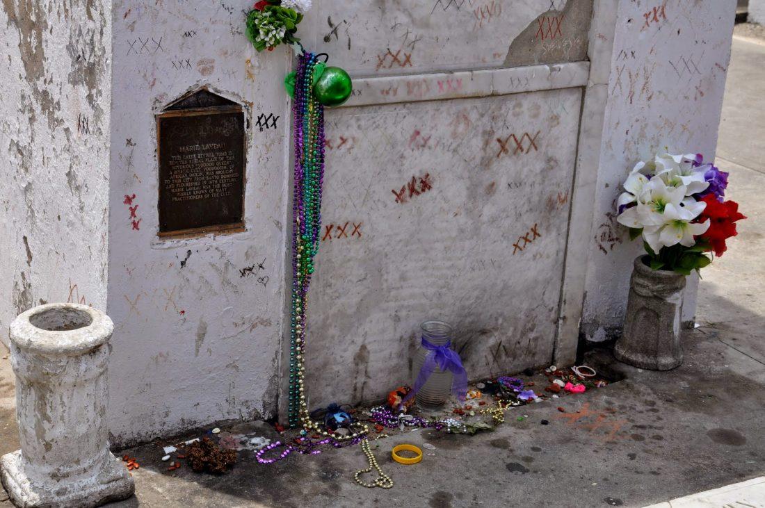 New Orleans St. Louis Cemetery Marie Laveau