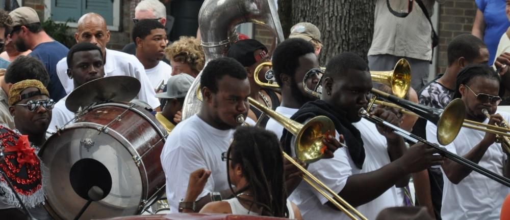 New Orleans Tremé Second line parade