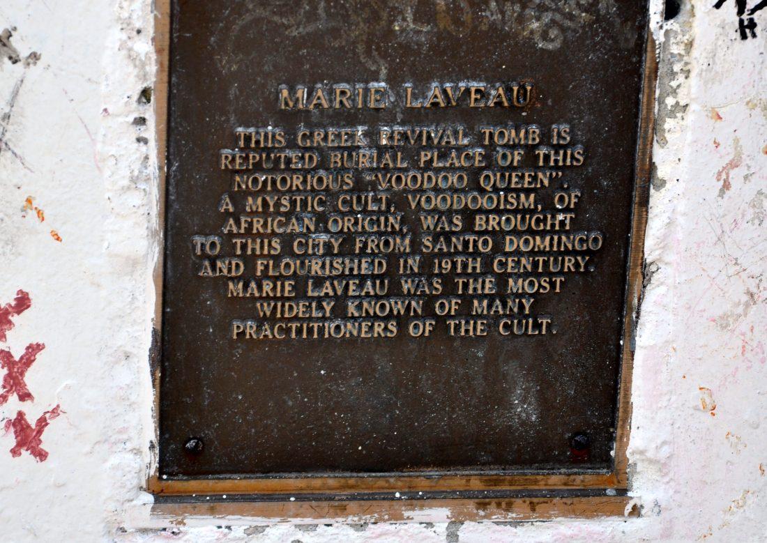 St. Louis Cemetery No. 1 Marie Laveau