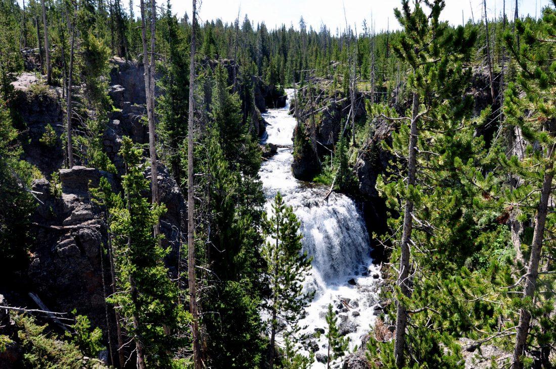 Yellowstone : Mystic Falls trail