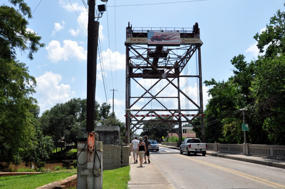Louisiana : Pont Breaux