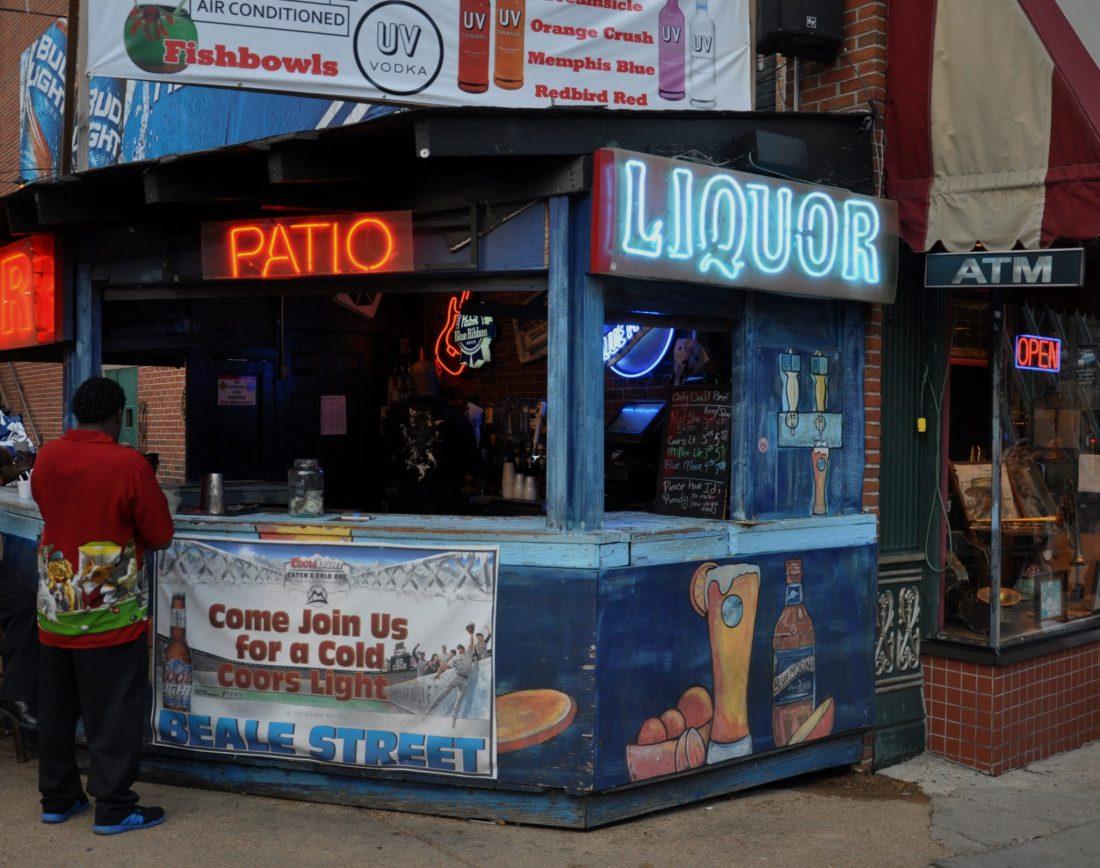 Memphis Beale Street Patio Beer Bar
