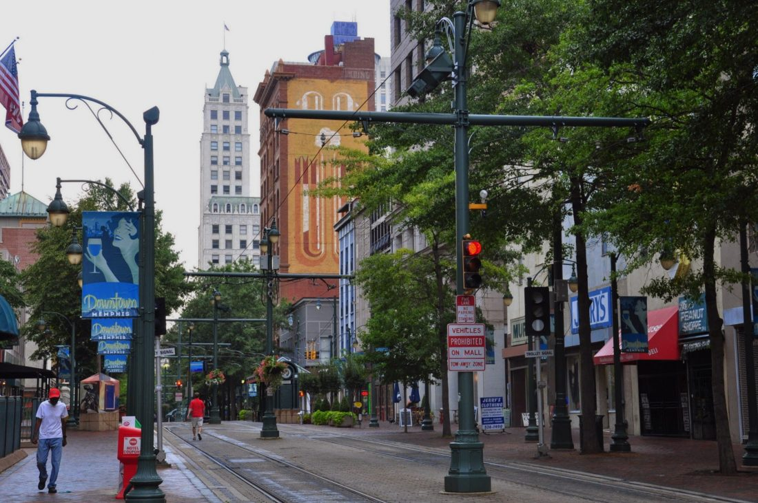 Tennessee Memphis Downtown