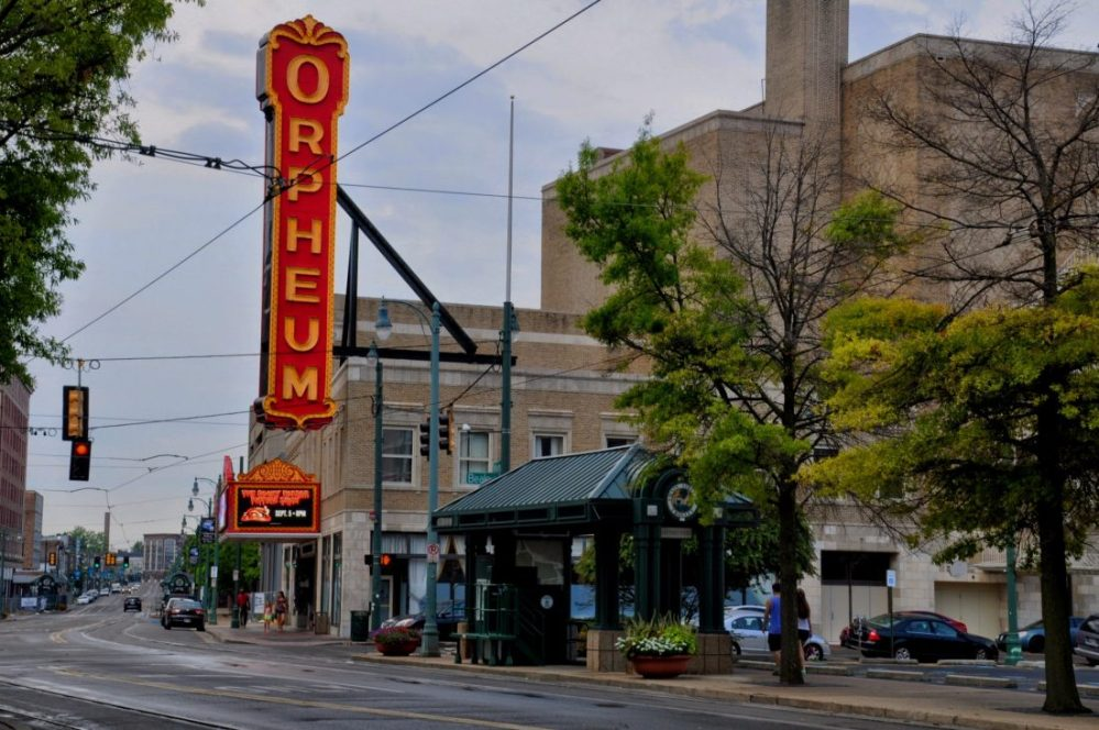 Tennessee Memphis Downtown Orpheum