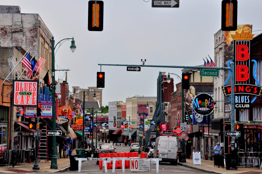 Tennessee Memphis Beale Street