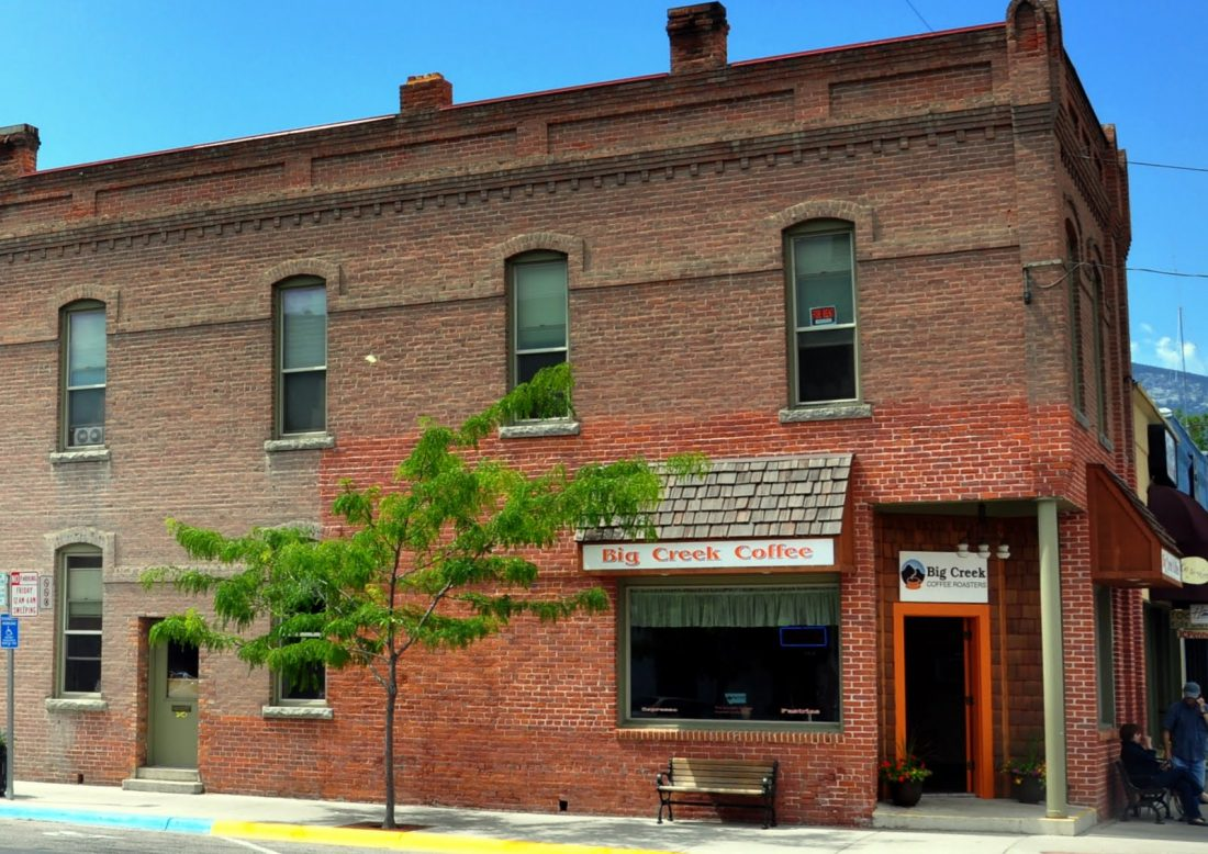 Montana : Hamilton historic district