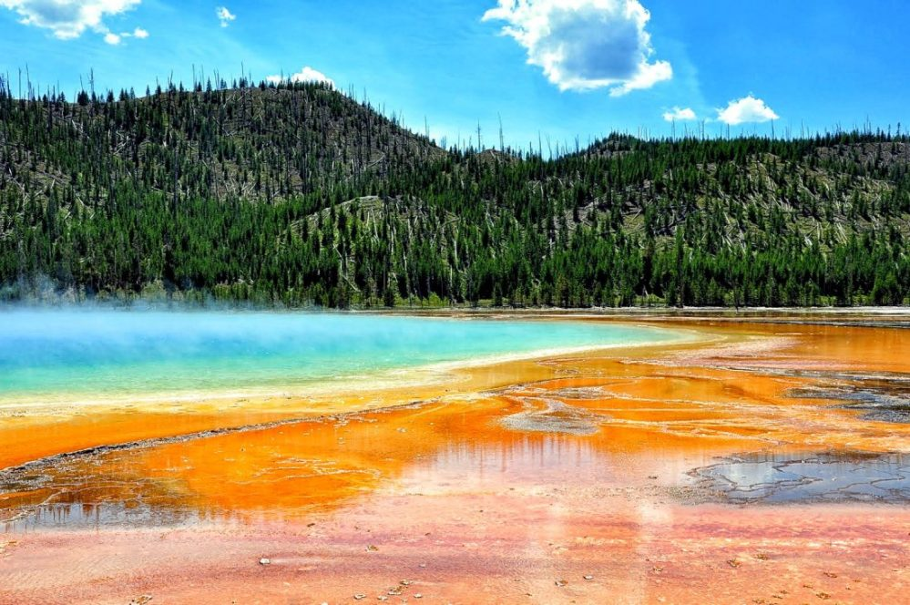 Yellowstone : Grand Prismatic Spring