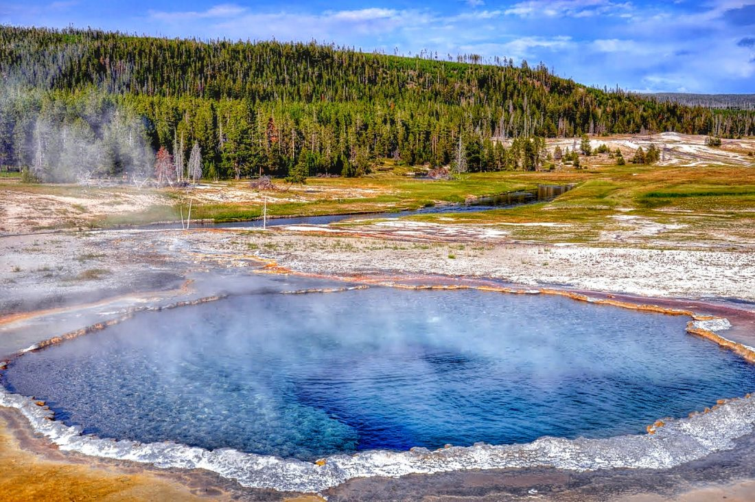 Yellowstone : Upper Geyser Basin