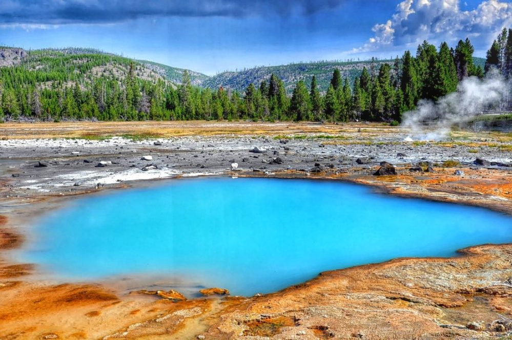 Yellowstone : Black Opal Pool