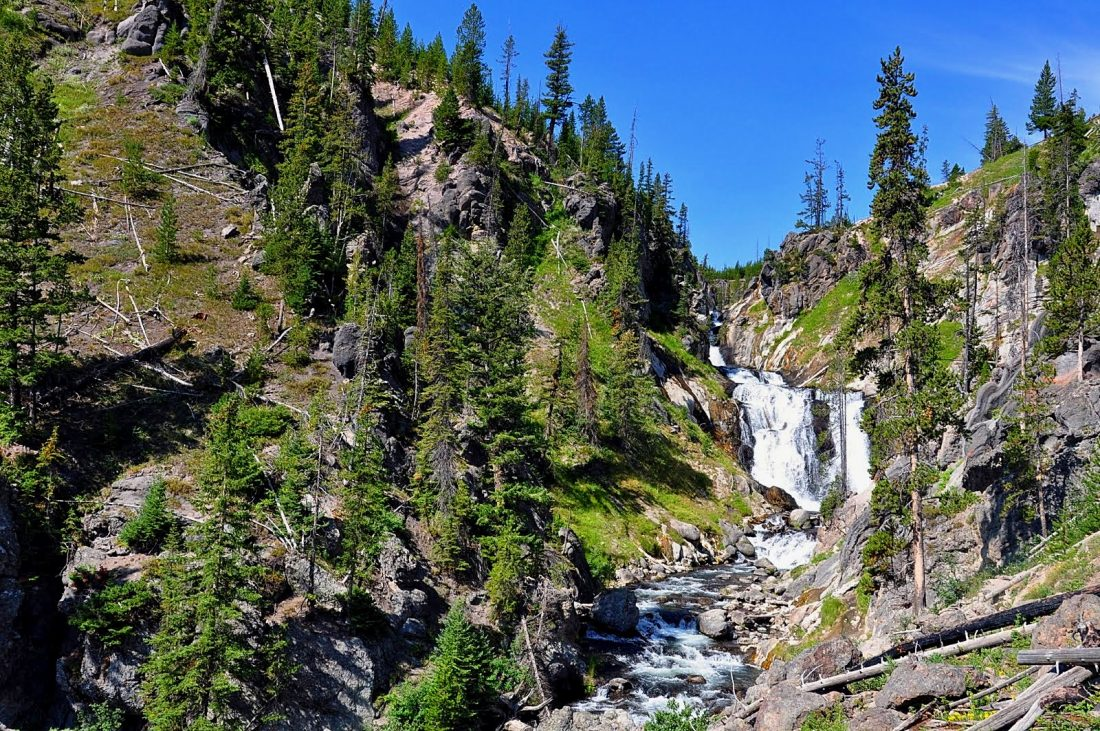 Yellowstone : Mystic Falls trail