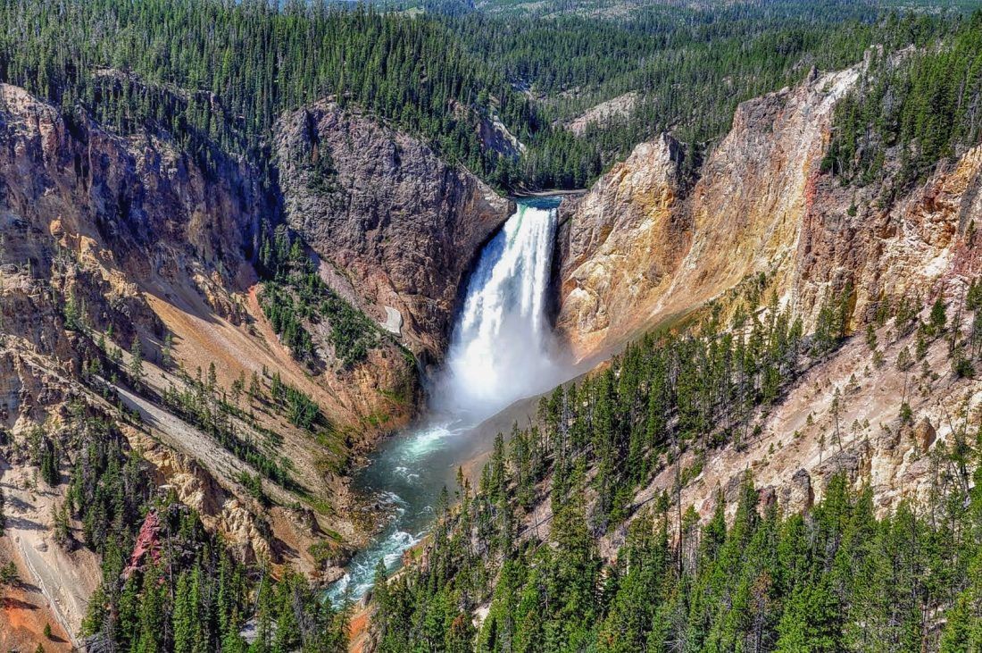 Yellowstone : canyon : north rim trail