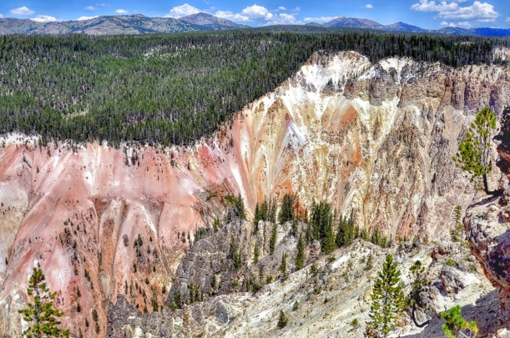 Yellowstone : canyon : artist point