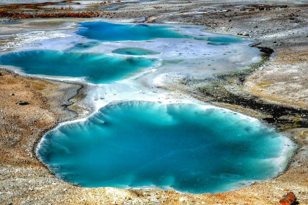 Yellowstone : Norris Geyser Basin (Porcelain Basin)