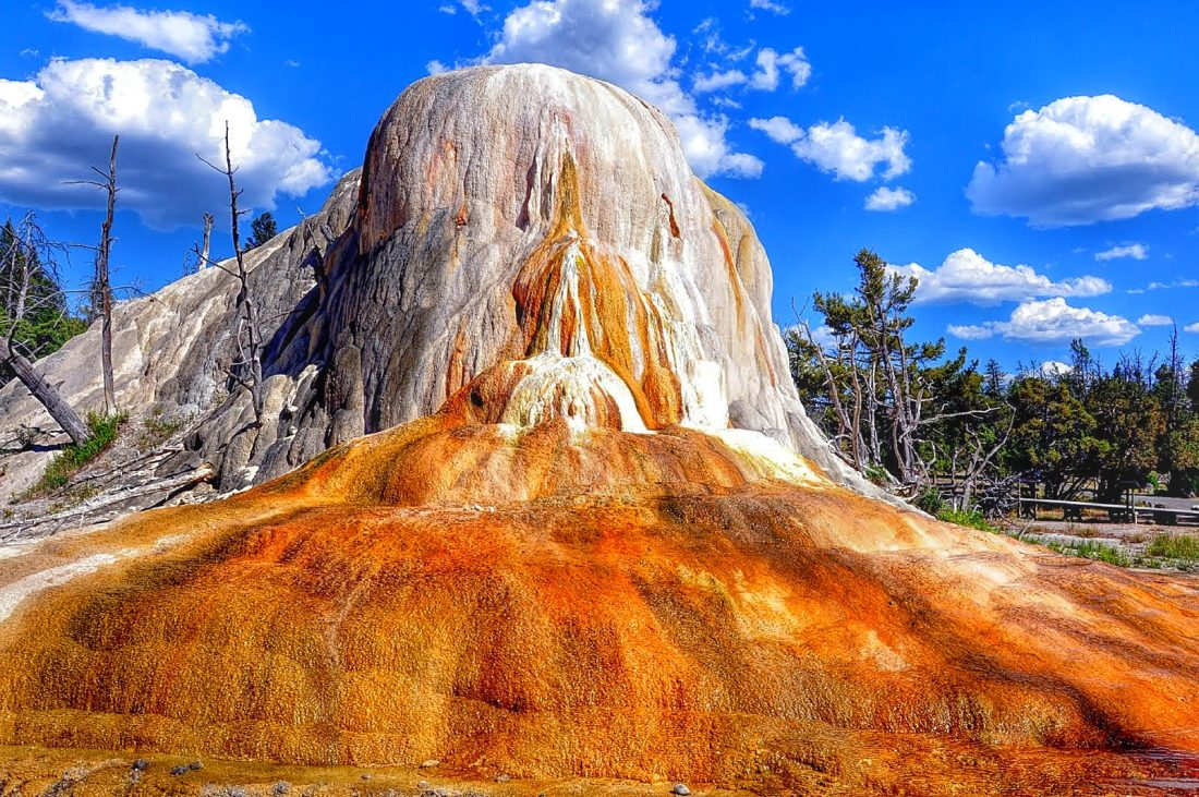 Yellowstone : Mammoth Hot Springs