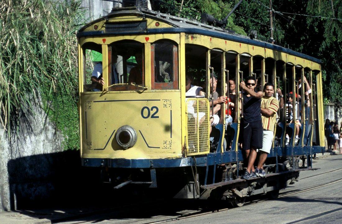 Rio de Janeiro : Santa Teresa bondinho