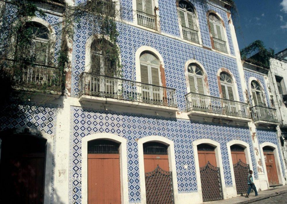 Maranhão : São Luís azulejos