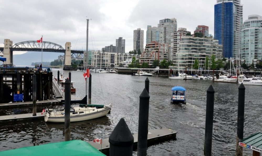 Vancouver: view from Granville island