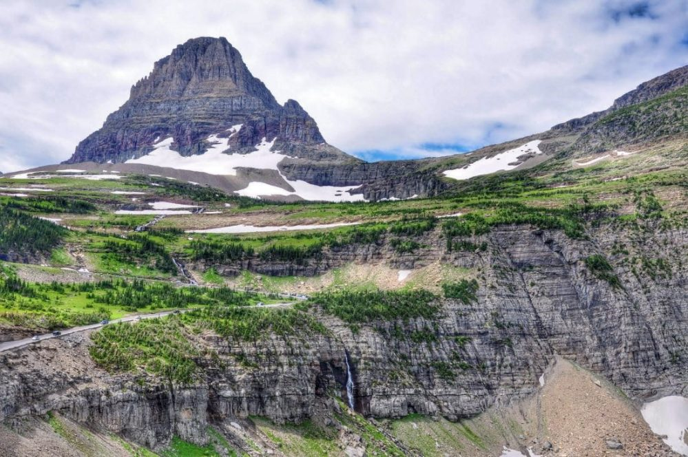Logan Pass : Highline Trail