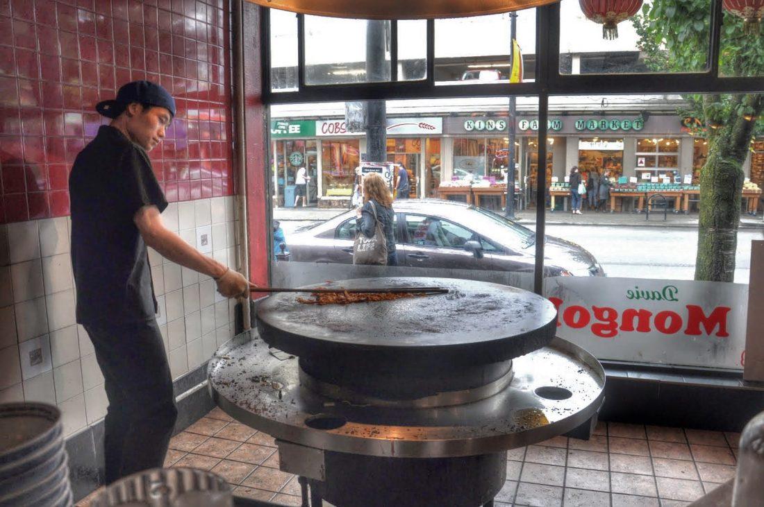 Vancouver Robson Mongolian BBQ