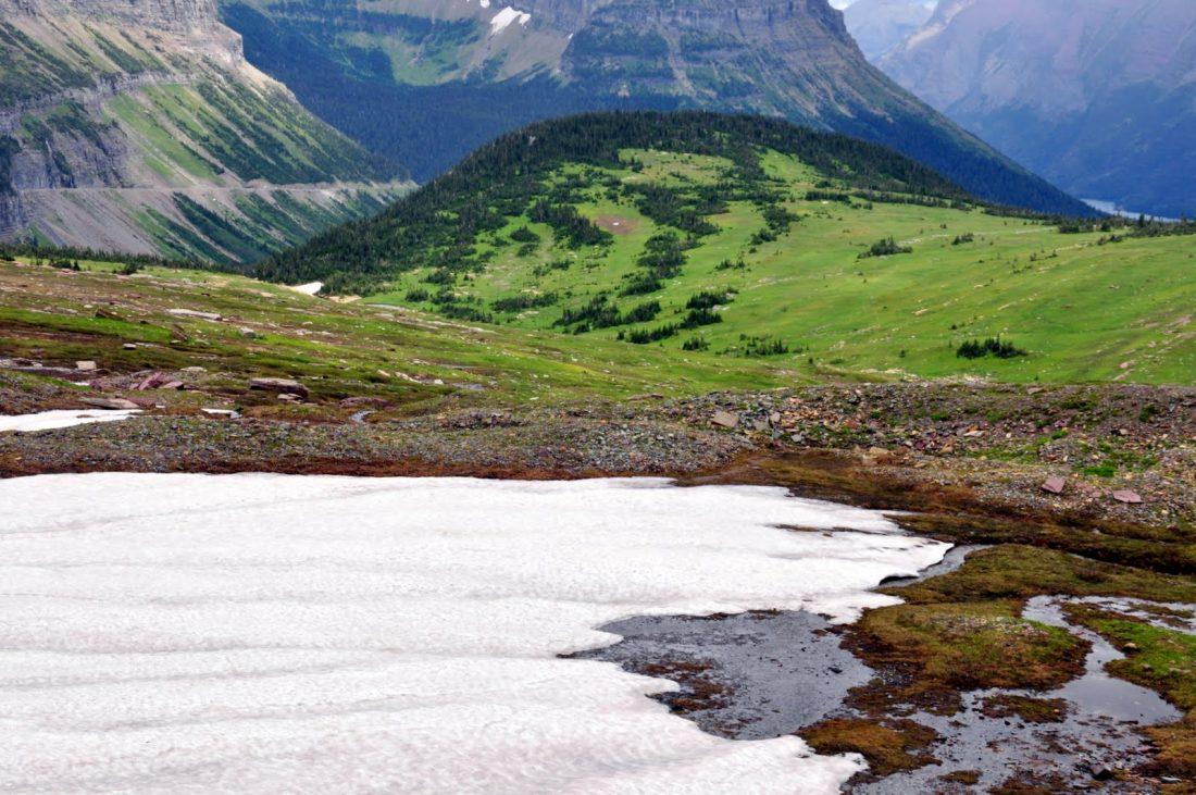 Glacier National Park : Hidden Lake Trail
