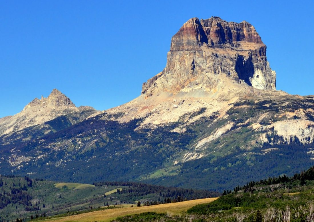 Glacier National Park : Chief Mountain