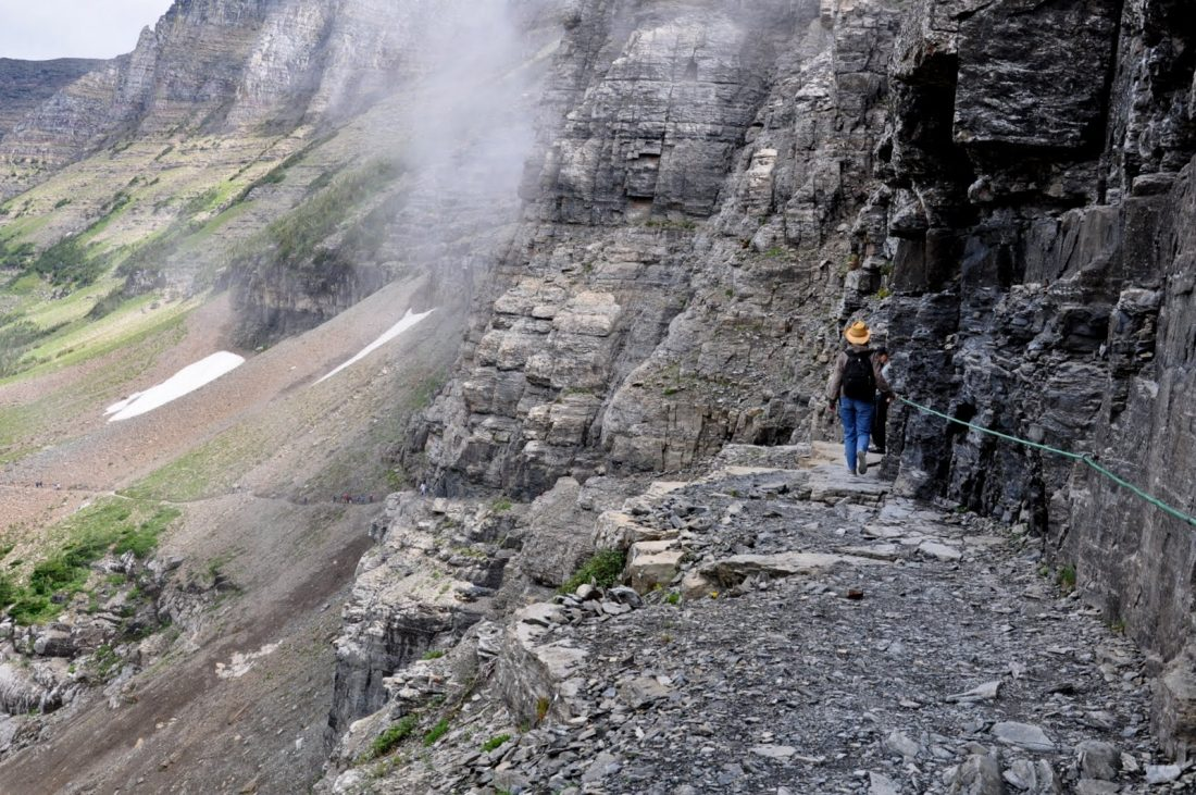 Logan Pass : Highline Trail
