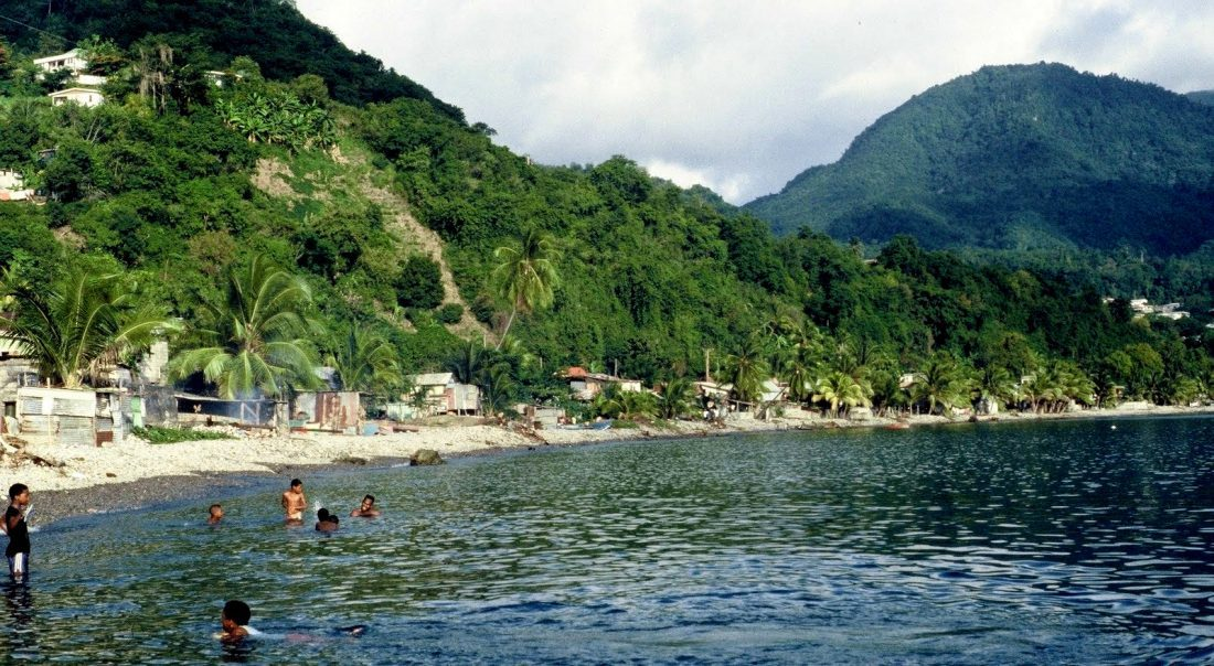 Dominica : Roseau south