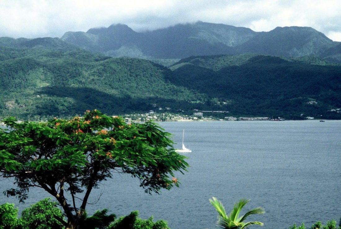 Dominica : Cabrits National Park Portsmouth