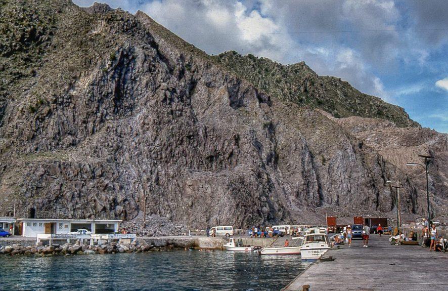 Saba : Fort Bay Ferry Terminal