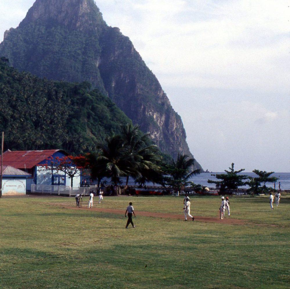 Santa Lucia : Soufrière baseball