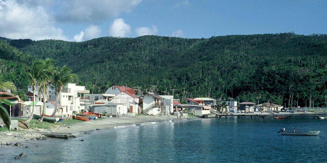 Guadeloupe : Deshaies