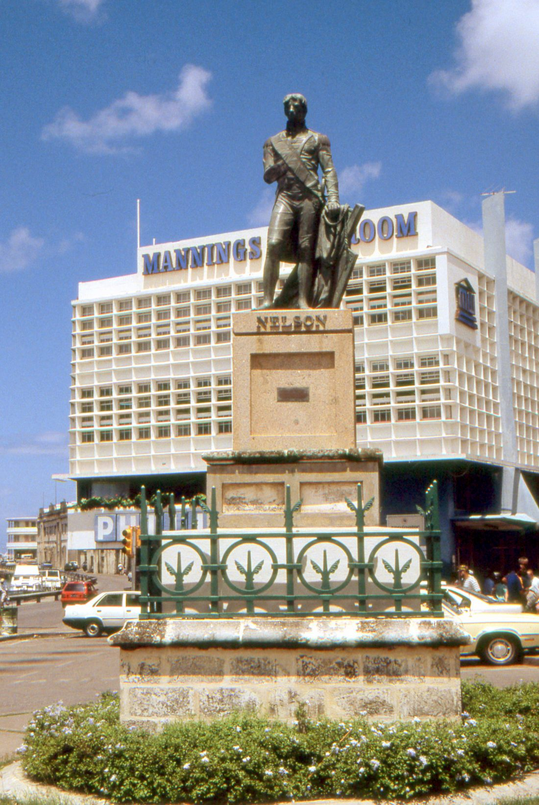 Barbados : Bridgetown (Nelson statue)
