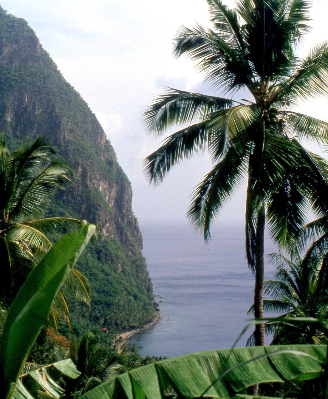 Santa Lucia : Soufrière (Piton)