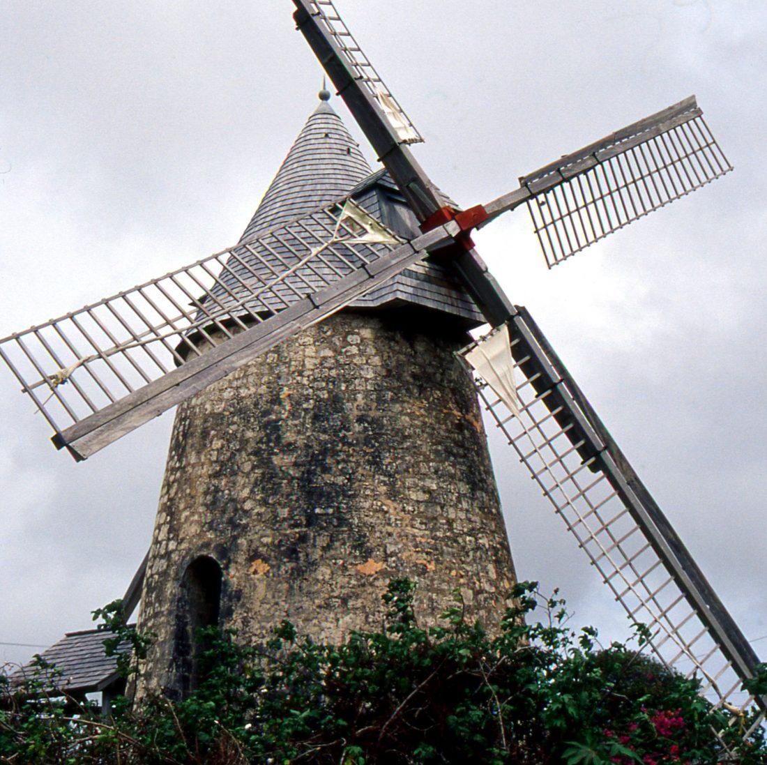 Marie Galante : Le Moulin de Bézard