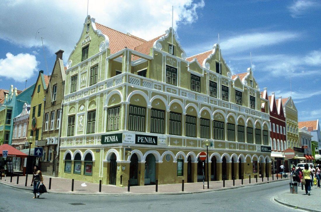 Curaçao : Willemstadt Penha building