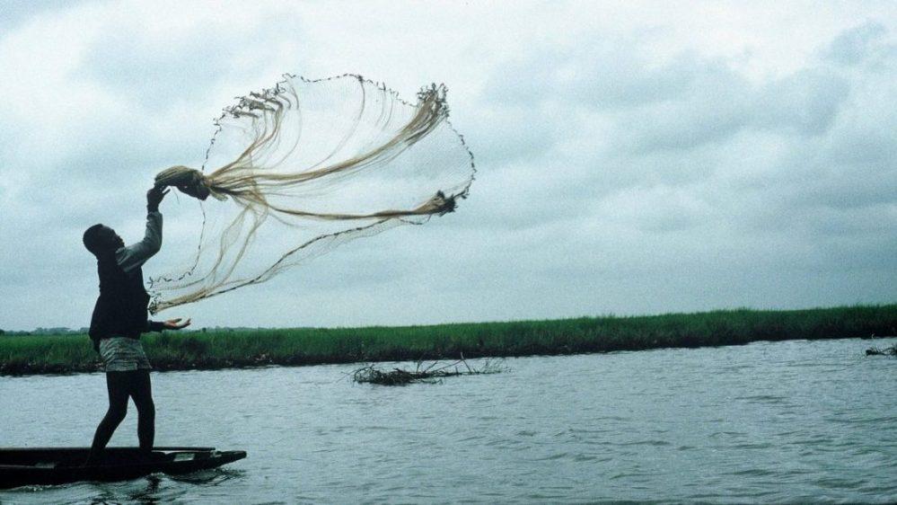 BENIN : Pêche à Ganvié