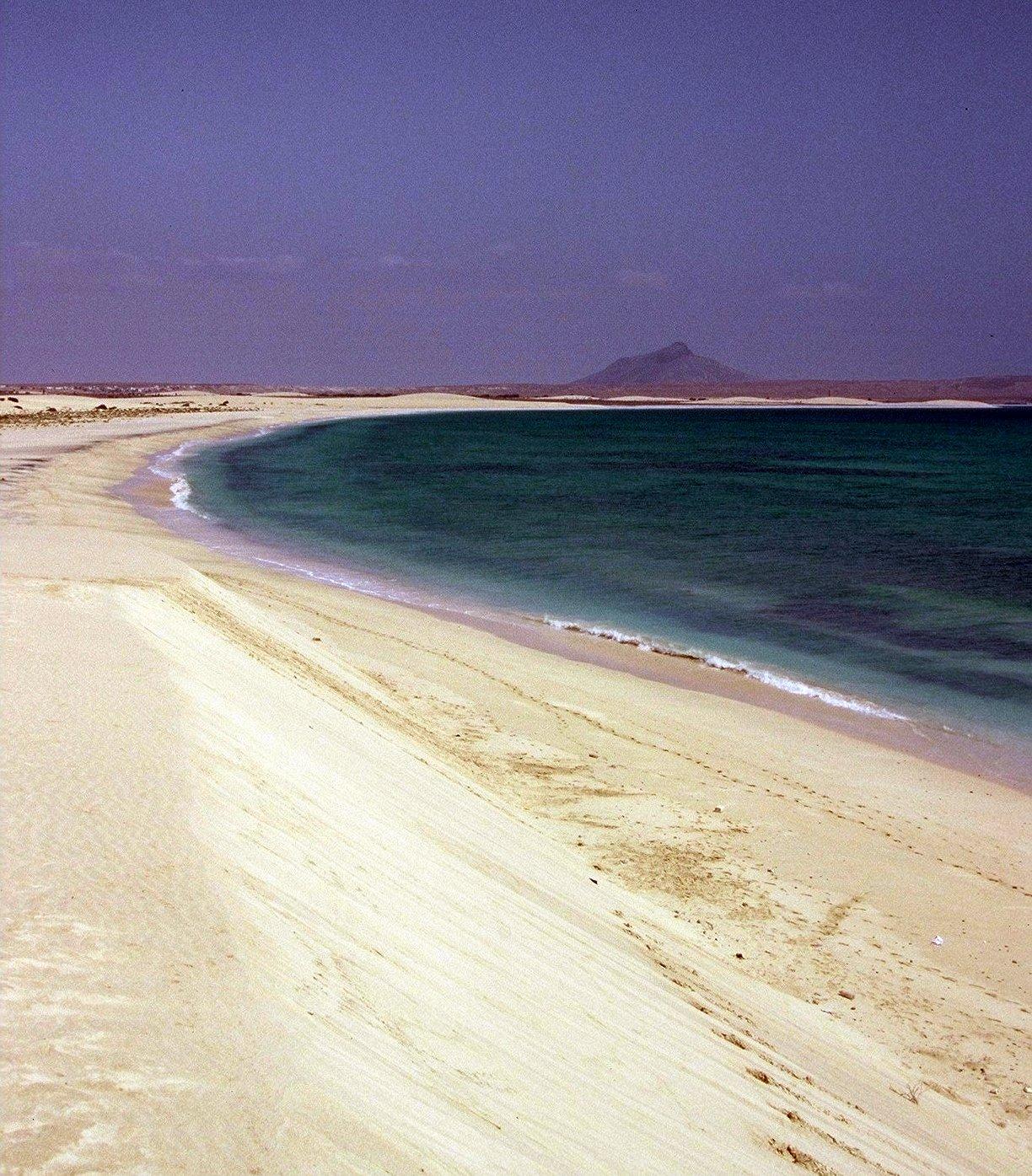 Cabo Verde ;: Boa Vista (praia d'Estoril)