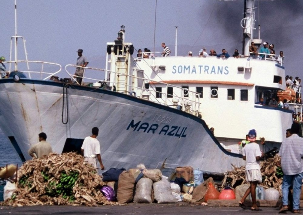 CABO VERDE : Ferry to Santo Antao