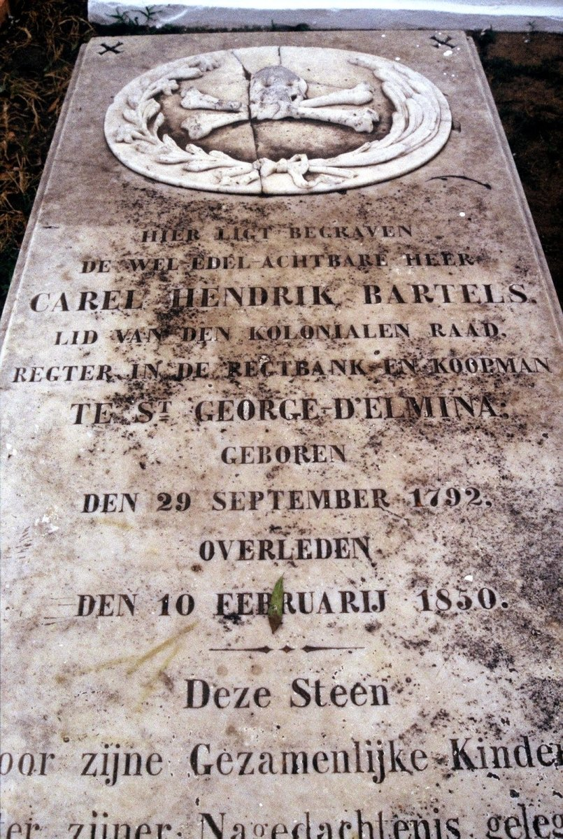 Elmina cemetery